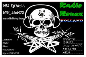 QSL Radio Ronex-1