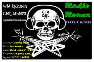 QSL Radio Ronex-2